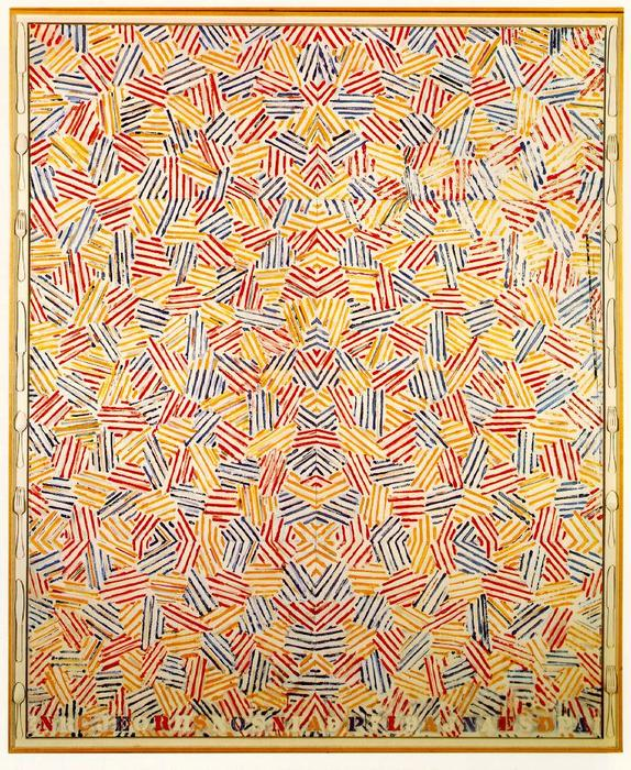 Dancers on a Plane by Jasper Johns