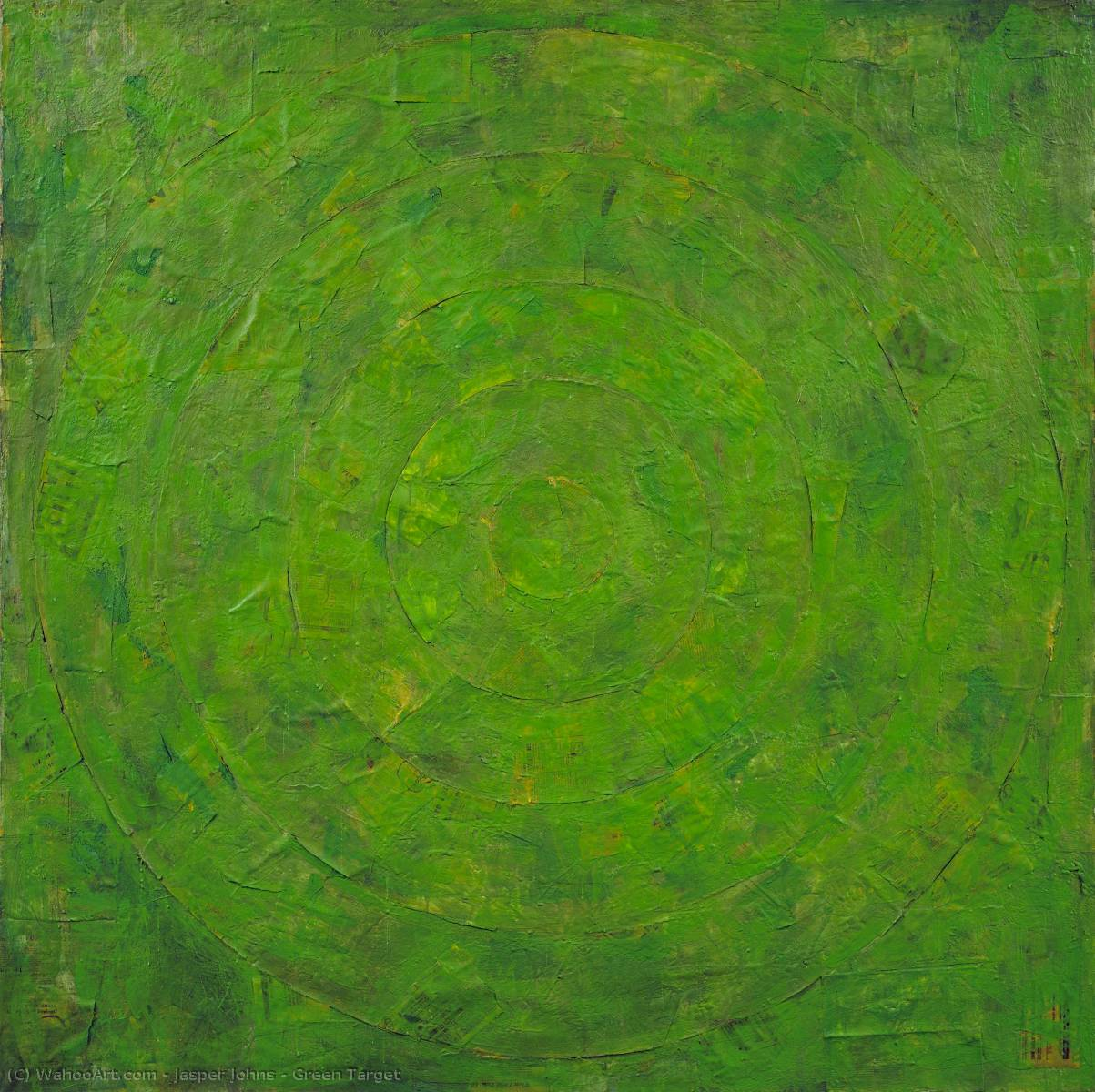 Green Target by Jasper Johns