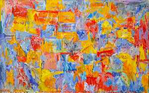 Order Painting Copy : Map by Jasper Johns | WahooArt.com