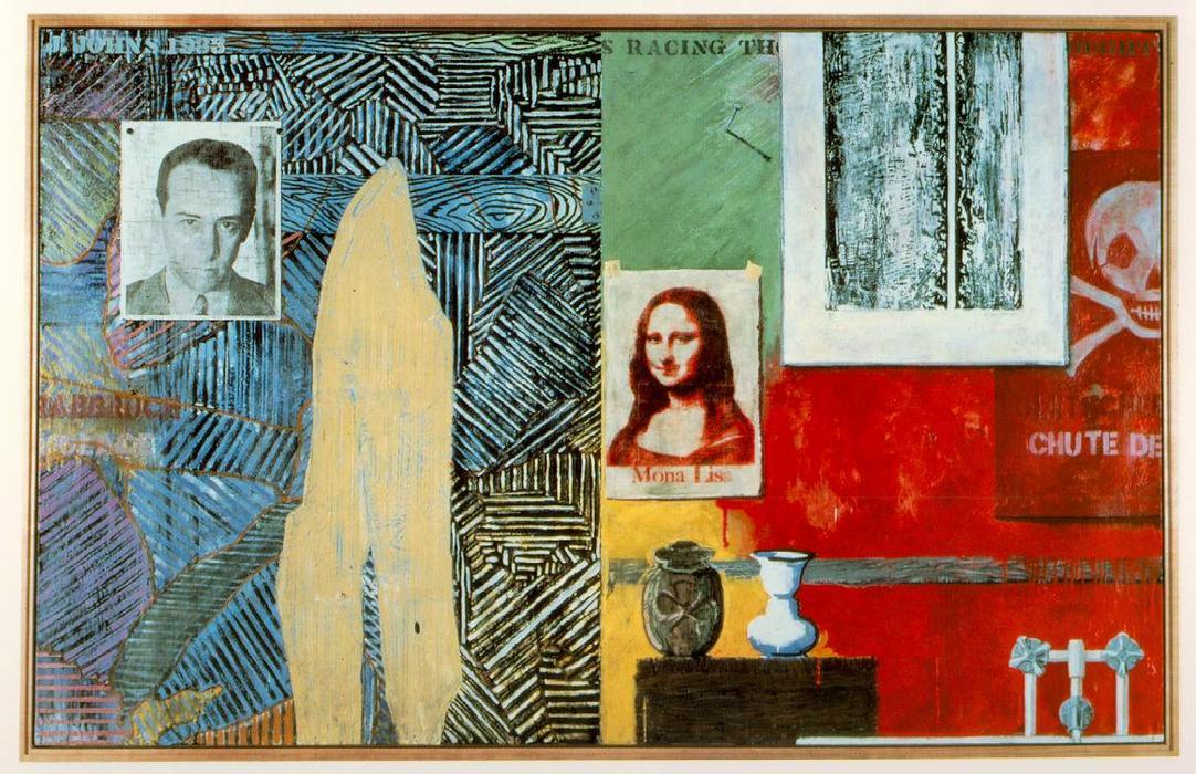Racing Thoughts by Jasper Johns