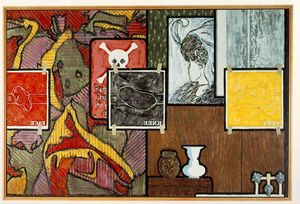 Jasper Johns - Untitled
