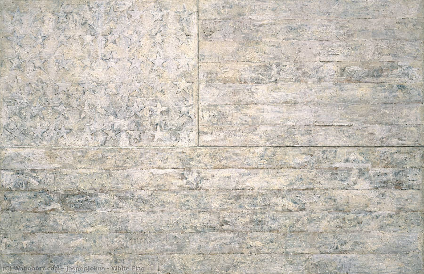 White Flag, 1955 by Jasper Johns