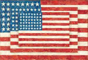 Jasper Johns - Three Flags