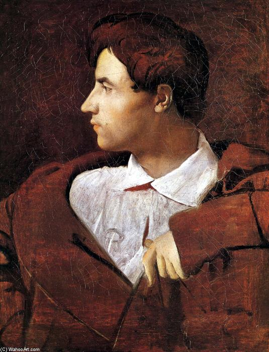 Jean Baptiste Desdeban, Oil On Canvas by Jean Auguste Dominique Ingres (1780-1867, France)