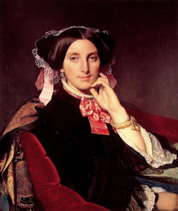 Jean Auguste Dominique Ingres - Madame Gonse