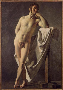 Jean Auguste Dominique Ingres - Male nude