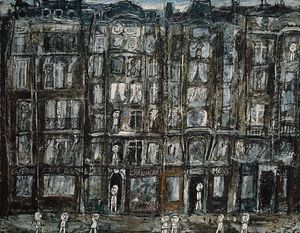 Jean Philippe Arthur Dubuffet - Apartment Houses, Paris