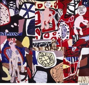 Jean Philippe Arthur Dubuffet - Times and places