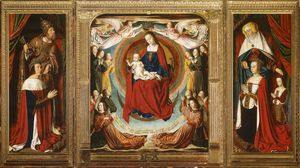 Jean Hey - The Bourbon Altarpiece (The Moulins Triptych)