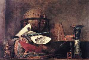 Jean-Baptiste Simeon Chardin - The Attributes of the Sciences