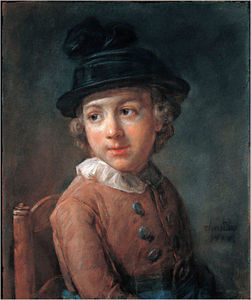Jean-Baptiste Simeon Chardin - Portrait of a child