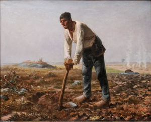 Jean-François Millet - The Man with the Hoe