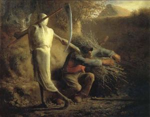 Jean-François Millet - Death and the woodcutter