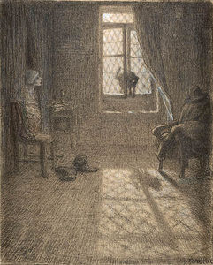 Jean-François Millet - The Cat Who Became a Woman