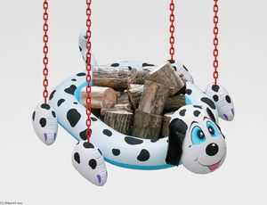 Jeff Koons - Dogpool Logs
