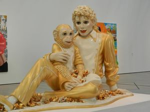 Jeff Koons - Michael Jackson and Bubbles