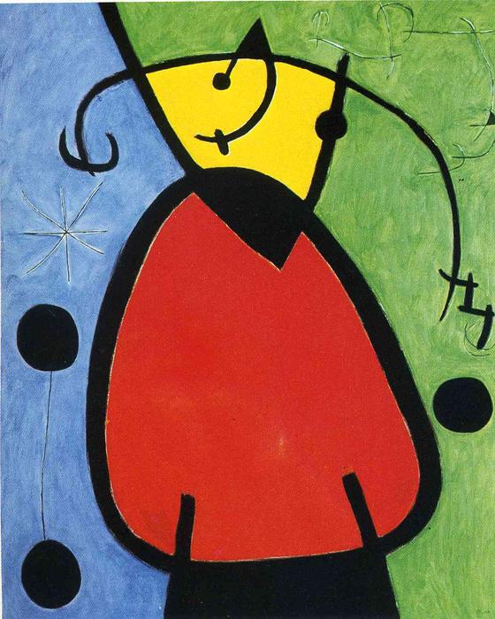 The Birth of Day, 1968 by Joan Miro (1893-1937, Spain) | Painting Copy | WahooArt.com