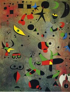 Joan Miro - Constellation Awakening at Dawn