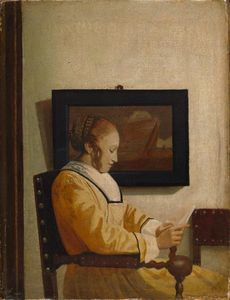 Jan Vermeer - A Young Woman Reading