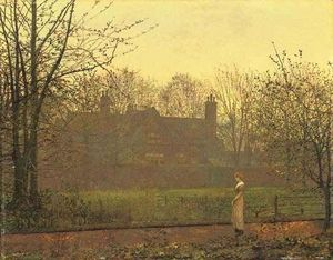 John Atkinson Grimshaw - The Chill of Autumn