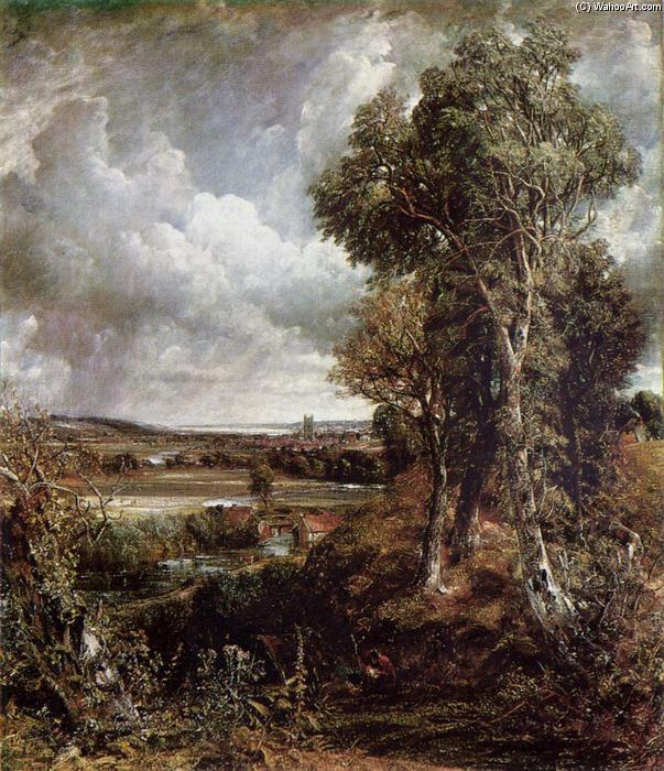 The Vale of Dedham, Oil On Canvas by John Constable (1776-1837, United Kingdom)