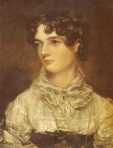 John Constable - Portrait of Maria Bicknell