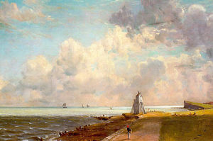 John Constable - The Low Lighthouse and Beacon Hill