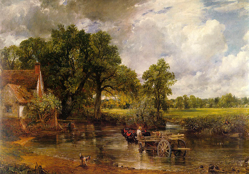 Stratford Mill, 1820 by John Constable (1776-1837, United Kingdom) | Paintings Reproductions John Constable | WahooArt.com
