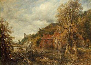 John Constable - Arundel Mill and Castle