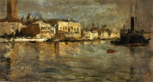 John Henry Twachtman - View of Venice