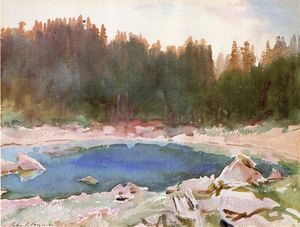 John Singer Sargent - Lake in the Tyrol