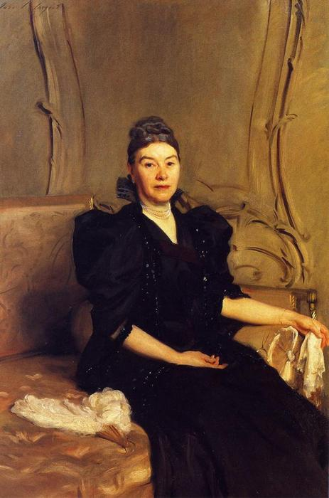Mrs Robertson, 1880 by John Singer Sargent (1856-1925, Italy) | Museum Quality Reproductions | WahooArt.com