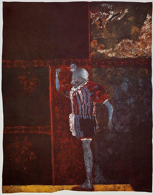 The Clown, 1957 by Jorge José Castillo Casalderrey | Painting Copy | WahooArt.com