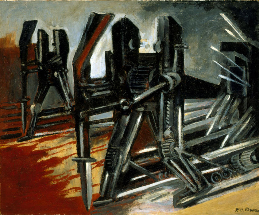 Advance, 1940 by Jose Clemente Orozco (1883-1949, Mexico) |  | WahooArt.com