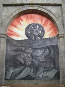 Jose Clemente Orozco - Wheel