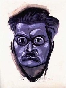 Jose Clemente Orozco - Self-portrait