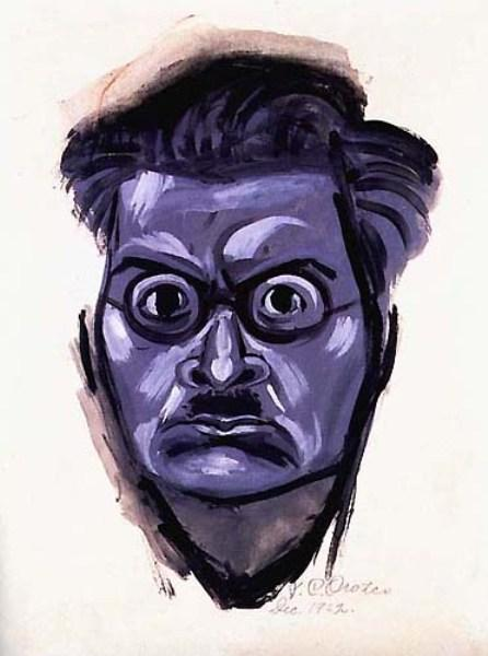 Self-portrait, 1937 by Jose Clemente Orozco (1883-1949, Mexico) |  | WahooArt.com