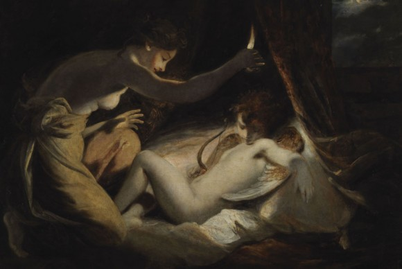 Buy Museum Art Reproductions | Cupid and Psyche, 1789 by Joshua Reynolds (1723-1792, United Kingdom) | WahooArt.com