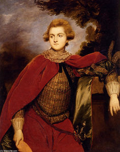 Joshua Reynolds - Portrait of Lord Robert Spencer