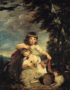 Joshua Reynolds - The Brummell Children