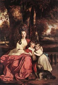 Joshua Reynolds - Lady Delm and her Children