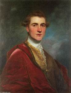 Joshua Reynolds - Portrait of Charles Hamilton, 8th Early of Haddington
