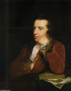 Joshua Reynolds - Portrait of George Colman, the Elder