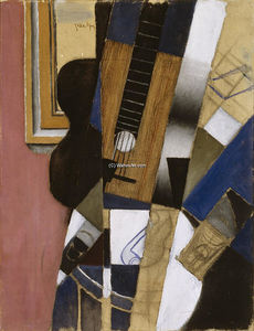 Juan Gris - Guitar and Pipe