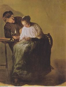 Judith Leyster - A man offers a young girl money