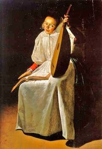 Judith Leyster - Girl with a Lute