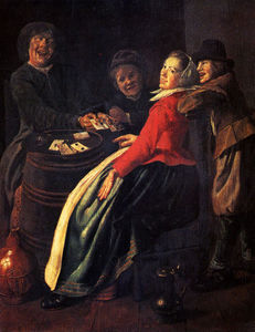 Judith Leyster - A Game of Cards