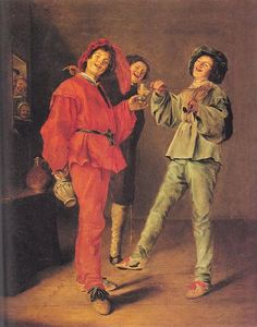 Judith Leyster - Three Boys Merry-making