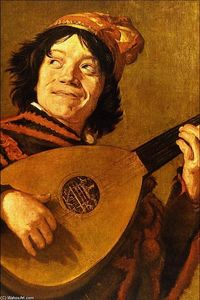 Order Museum Quality Copies | The Jester, 1625 by Judith Leyster (1609-1660, Netherlands) | WahooArt.com