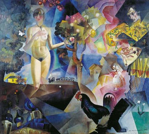 Jury Annenkov - Adam and Eve